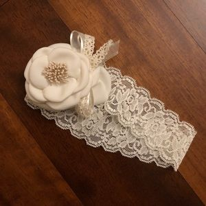 Other - Cream flower headband
